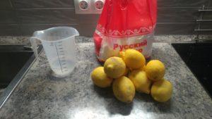 Лимонный джем Ингридиенты
