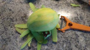 Гриль манго салат приготовление