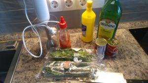 Шашлычный соус Ингредиенты